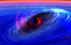 NASA - Matter Surfs on Ripples of Space Time Around Black Hole