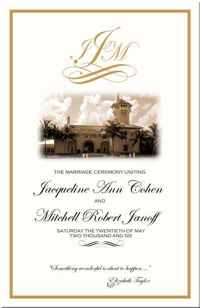 images  wedding bulletin cover template leseriailcom