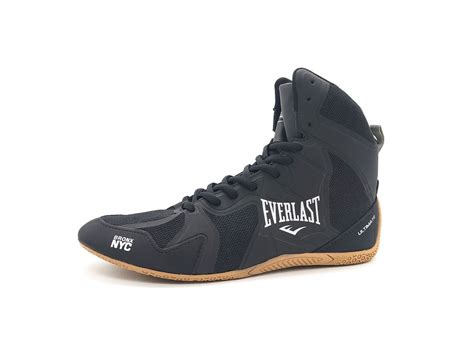 Everlast Ultimate Boxing Shoes Black