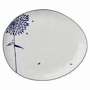 Porzellan Teller Weiß : lene bjerre teller gro oval mille porzellan geschirr ~ Michelbontemps.com Haus und Dekorationen