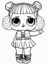 Lol Coloring Dolls Pages Surprise Series Wrap Yourself Again Winter Need sketch template