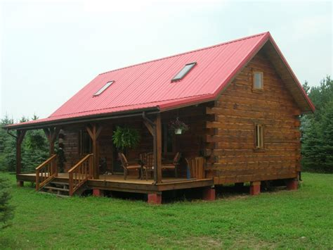 Inside A Small Log Cabins Small Log Cabin Home House Plans