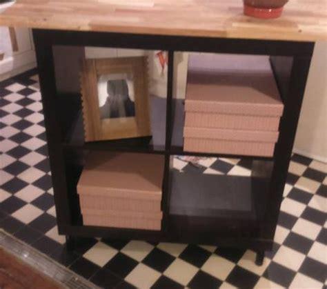 ikea cuisine eclairage relooking meuble kallax 4 cases