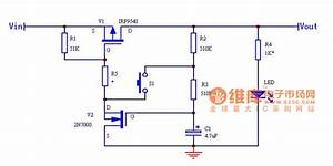 One-touch Switching Power Supply Circuit