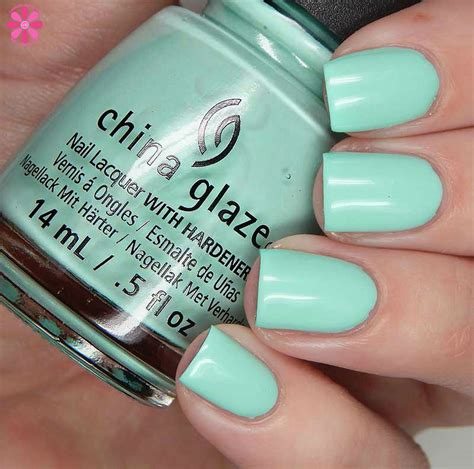 China Glaze It S A Boat Time by China Glaze 2017 Fling Collection Swatches