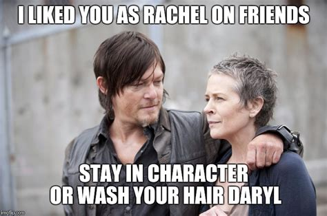 Carol Twd Meme - daryl and carol the walking dead imgflip