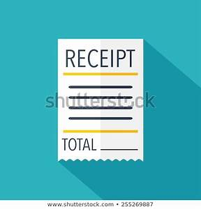 Cash Reciept Book Receipt Isolated Stock Photos Images Pictures