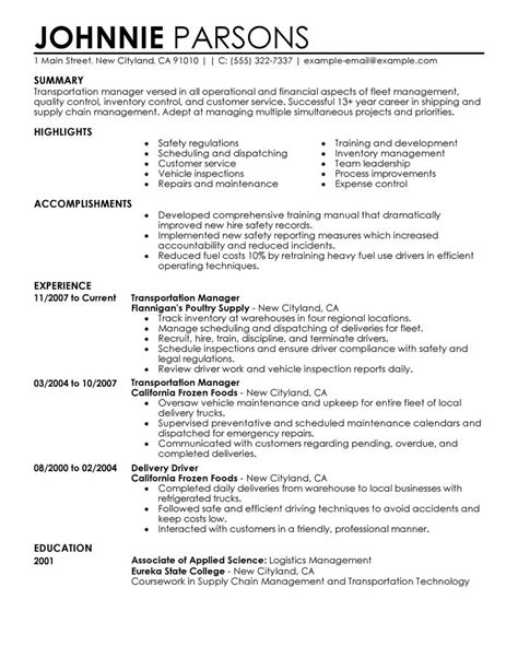 Create My Resume by Best Store Manager Resume Exle Livecareer