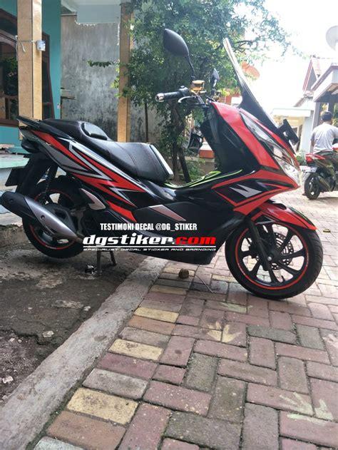 Pcx 2018 Warna Merah by Jual Striping Honda Pcx Lokal 2018 Warna Merah