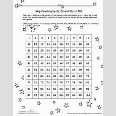 Hundreds Chart Skip Counting!  Worksheet Educationcom
