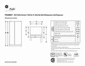Ge Profile Arctica Pss26mgpww Manuals