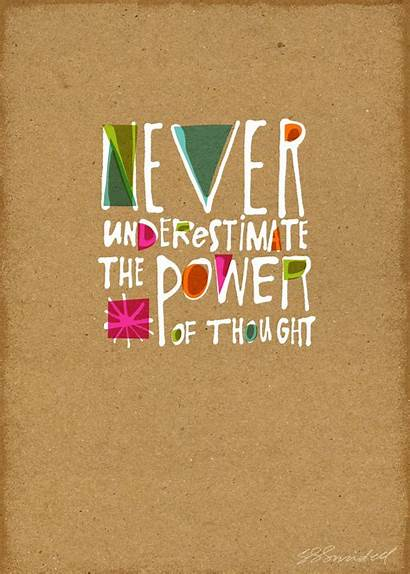 Creative Quote Quotes Thought Power Handlettering Artists