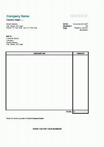 Free printable invoice template uk hardhostinfo for Simple printable invoice template