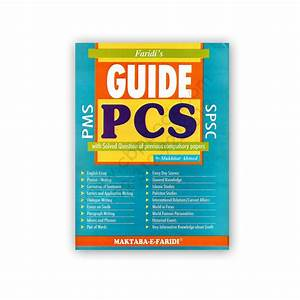 Pcs Guide With Solved Question From Past Papers By