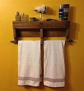étagère En Palette : etag re idee bricolage fabriquer etagere en palette ~ Dallasstarsshop.com Idées de Décoration