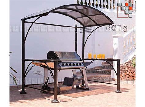 cuisine d été en abri plancha et barbecue 706