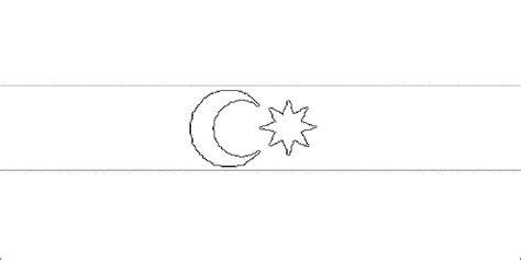 flagge aserbaidschan zum ausmalen fahne aserbaidschan als