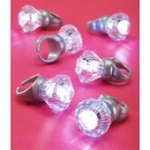 Novelty led acrylic engagement rings bachelorette party for Novelty wedding rings