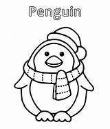 Penguin Coloring Cartoon Penguins Sheets Colour Colours Printable Drawing Template Getcoloringpages Coloringpages234 sketch template