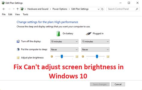 can t adjust screen brightness in windows 10 solved troubleshooter