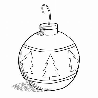 Ornament Christmas Clipart Drawing Clip Balls Ornaments