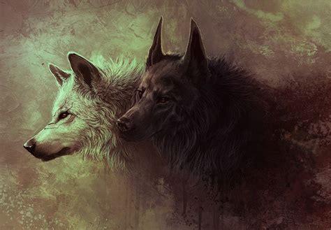 Digital Wolf Wallpaper by Wolf Digital Wallpapers Hd Desktop And Mobile