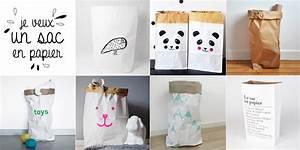 Sac En Papier Deco : s lection de sacs en papier pour tout ranger knut loulou ~ Teatrodelosmanantiales.com Idées de Décoration