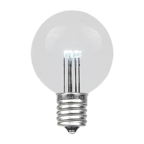 25v replacement lights with white base 25 pack led g50 outdoor patio globe replacement bulbs warm white e17 c9 base ebay