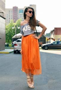 Fashionable Outfit Ideas In Orange Pretty Designs