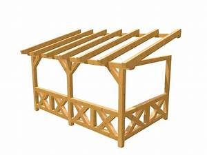 Holz Bauplan De : pergola terrassn berdachung selber bauen holz ~ Frokenaadalensverden.com Haus und Dekorationen