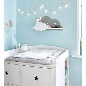 Chambre Bebe Nuage : tag re murale nuage blanc gris 24 chambre gar on pinterest chambre b b bebe et chambre ~ Teatrodelosmanantiales.com Idées de Décoration