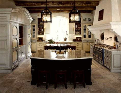 Kitchen In A French Rustic-style