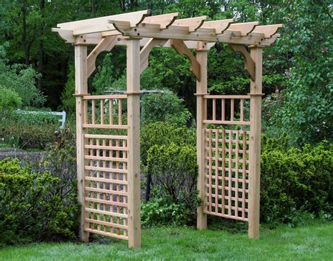 Garden Decoration Free by Garden Arbor Plans Designs Outdoor Decorations