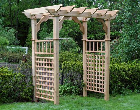 Garden Arbor Plans Designs