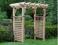 garden trellis plans Garden Arbor Plans Designs – Outdoor Decorations
