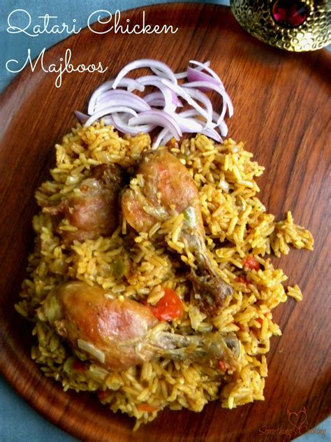 Chicken Majboos is the national dish of Bahrain and Qatar ...