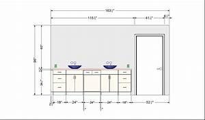 Bathroom vanity base cabinet diions gallery including for Bathroom window height from floor