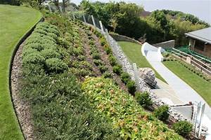 Hang Bepflanzen Bodendecker : garten am hang anlegen und sch ne hangbeete bepflanzen ~ Lizthompson.info Haus und Dekorationen
