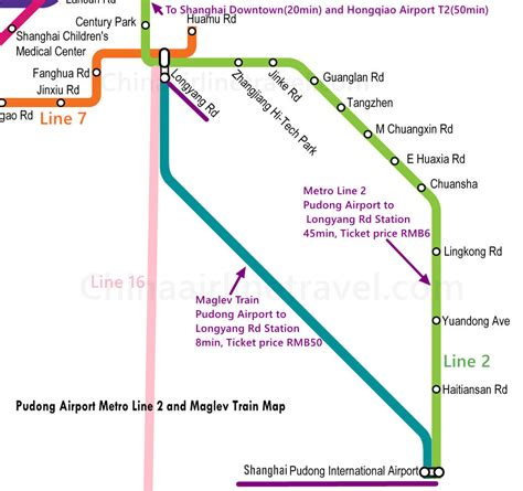 Information about price, tickets and working hours. Shanghai Pudong Airport Metro Guide, PVG Airport subway ...
