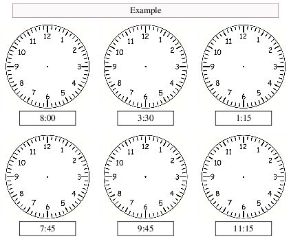 analogue clock worksheet maker make your own tailored