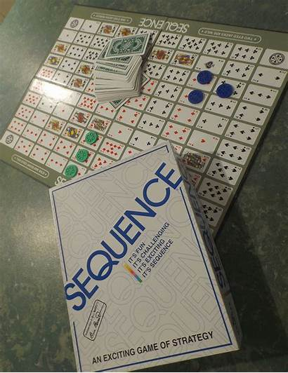 Sequence Board Games Rules Card Cards Playing