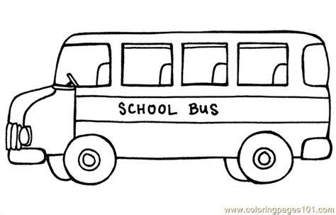 bus coloring page  coloring page  printable