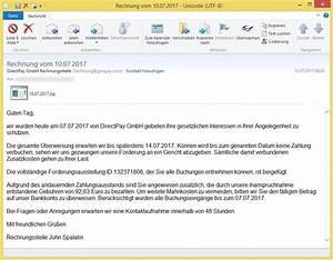 Rechnung Directpay : rechnung vom von directpay gmbh rechnungsstelle ~ Themetempest.com Abrechnung