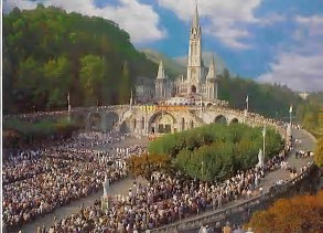 Image result for Lourdes Shrine France