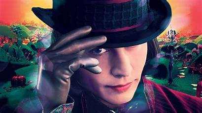 Charlie Chocolate Factory Wallpapers Movies 4k Depp