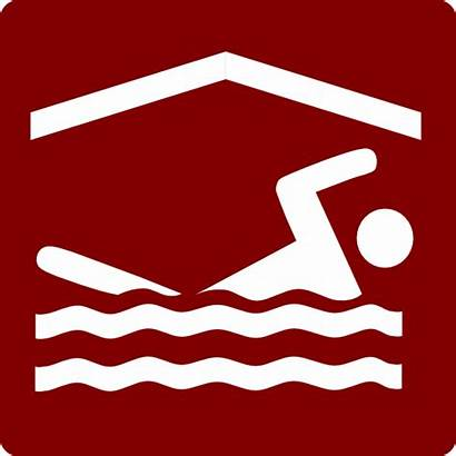 Pool Clip Indoor Hotel Icon Swimming Swimmer