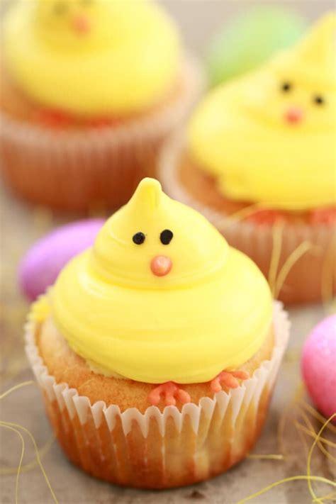 baby chick vanilla cupcakes small batch cupcakes