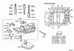 Valve Body Toyota Rav4