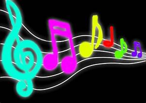 Neon Music Notes Wallpaper Custom HD 48 Neon Music Notes