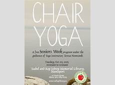 Chair Yoga for Seniors at Isabel & Roy Jodrey Memorial